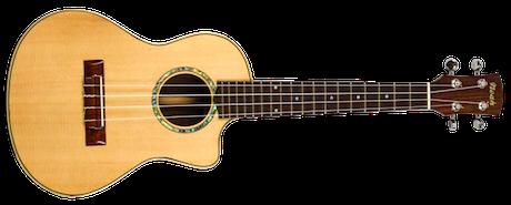 electro spruce ukulele