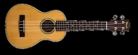 spruce soprano ukuleles
